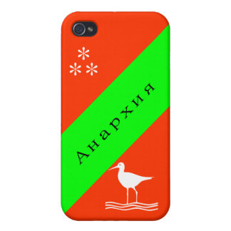 Анархия Anarchie auf russisch iPhone 4/4S Case