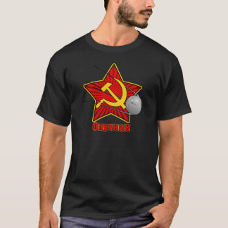 Спутник Sputnik Plakatkunst T-Shirt