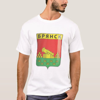 Футболкабелая - ГербБрянска T-Shirt