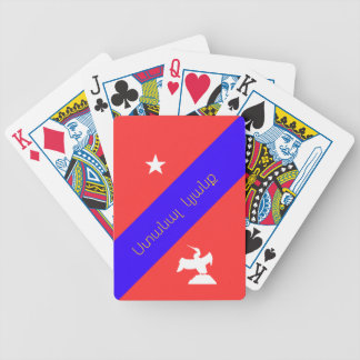 Ստանալկյանք erhalten ein Leben Bicycle Spielkarten