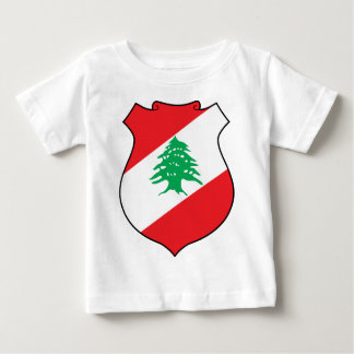 شعارلبنان libanesisches Emblem - Wappen der Baby T-shirt