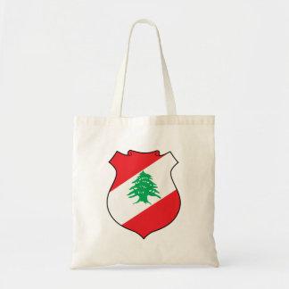 شعارلبنان libanesisches Emblem - Wappen der Tragetasche