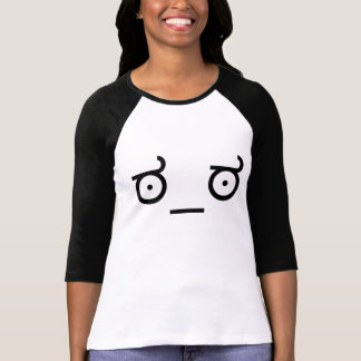 ಠ_ಠ Blick MissbilligungASCCI der T-Shirt