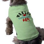 """ღ╬♥ das coolste Haustier-"""" Hündchen-gewellter Behä Hund T-shirt"""