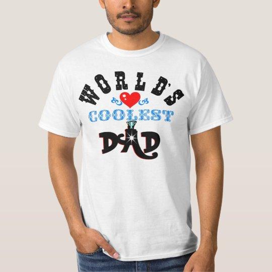 """ღ╬♥ der coolste Vati-"""" Wert T-Shirt♥╬ღ """" Welt T-Shirt"""