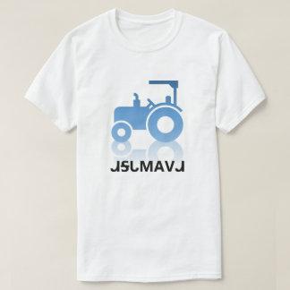 ᏗᎦᏓᎷᎪᏙᏗ - Traktor in Cherokee T-Shirt