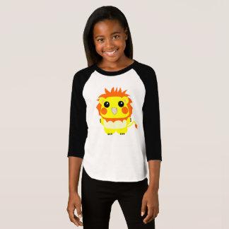 オカメインコ Cockatiel in seinem Halloween-Löwekostüm T-Shirt