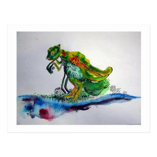 カマキリ ~ Mantis Postkarte