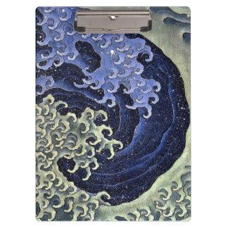 北斎の波, 北斎 Hokusai Welle, Hokusai, Japan-Kunst
