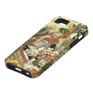 北斎 sieben Götter von Glück Hokusai schöner Kunst Hülle Fürs iPhone 5