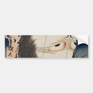 提灯のお化け, 北斎 Geist der Laterne, Hokusai, Ukiyo-e Autoaufkleber