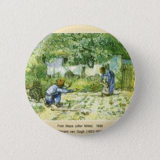 梵高, Vincent van Gogh Runder Button 5,1 Cm