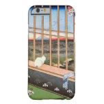 猫と富士山, 広重 Katze und der Fujisan, Hiroshige, Barely There iPhone 6 Hülle