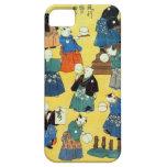猫の曲芸師, 国芳 Akrobat der Katzen, Kuniyoshi, Ukiyo-e iPhone 5 Cover