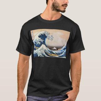 神奈川沖浪裏, 北斎 große Welle, Hokusai T-Shirt