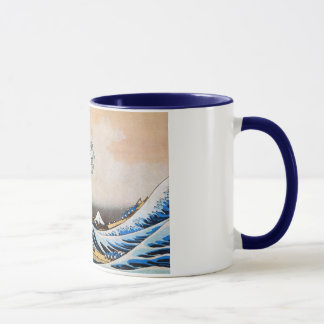 神奈川沖浪裏, 北斎 große Welle, Hokusai Tasse