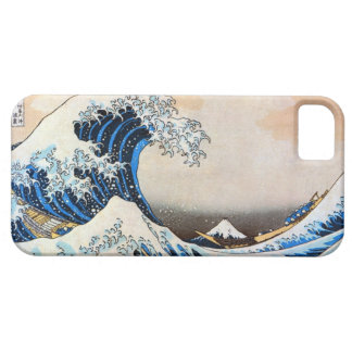 神奈川沖浪裏, 北斎 große Welle, Hokusai, Ukiyo-e iPhone 5 Schutzhülle