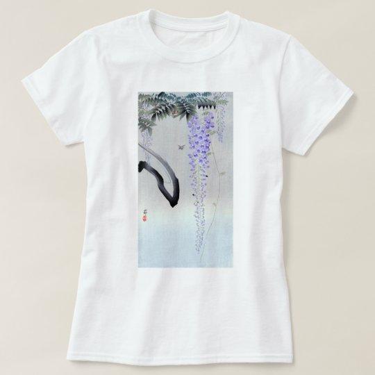 藤の花, 古邨 blühende Glyzinie, Ohara Koson, T-Shirt