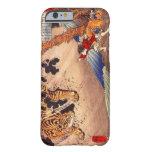 虎と闘う少年, Junge kämpft Tiger, Kuniyoshi, Ukiyo-e Barely There iPhone 6 Hülle
