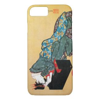 酔った女, 北斎 betrunkene Frau, Hokusai, Ukiyo-e iPhone 8/7 Hülle