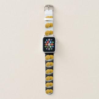 陰陽 Mond-Kuchen-Entwurf Apple passen 陰陽 auf Apple Watch Armband