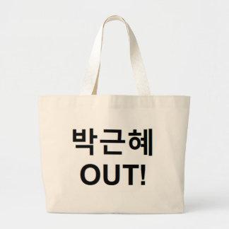 박근혜 HERAUS - Park Geun-hye HERAUS! Jumbo Stoffbeutel