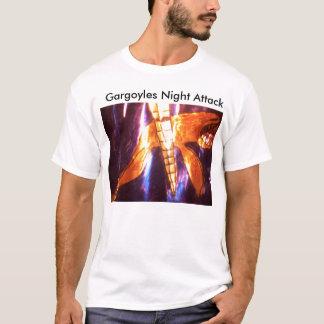000_4847, Wasserspeier-Nachtangriff T-Shirt