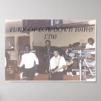 002_LowDownBand#2, FUNK Des FIESEN BANDES       … Poster