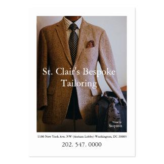 0065720-R3-007-2, St. Clairs bestellte das Mini-Visitenkarten