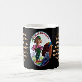 00. Der Dummkopf - Alice-Tarot Kaffeetasse