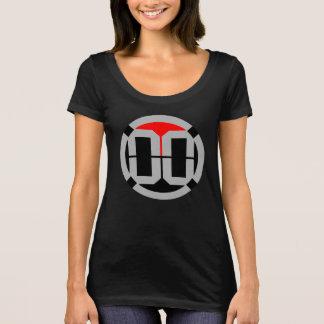 00 LVL-Logo-Schaufel-Hals-T-Stück T-Shirt