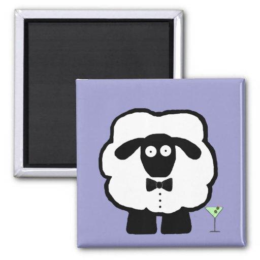 00 Schaf-Magnet Kühlschrankmagnet