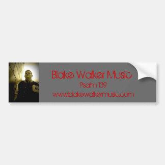 020, Blake-Wanderer-Musik, Psalm 139, www.blakewa… Autoaufkleber