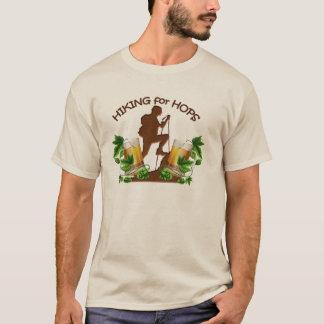 (02) Das Wandern für die lange T-Shirt
