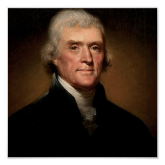 03 Thomas Jefferson Poster
