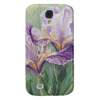 0455 lila Iris Galaxy S4 Hülle