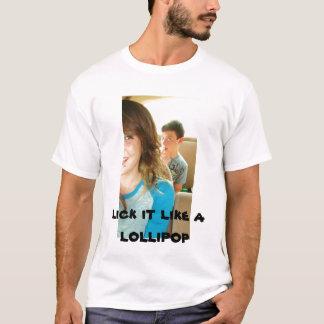 049, lecken es mögen einen Lutscher T-Shirt