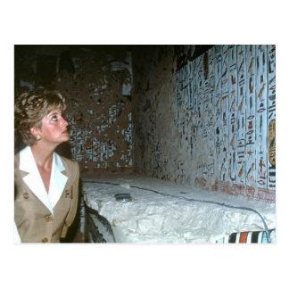 060 Prinzessin Diana Ägypten 1992 Postkarte