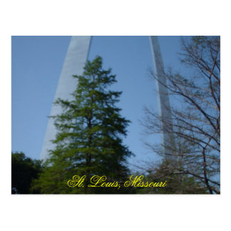 066, St. Louis, Missouri Postkarte
