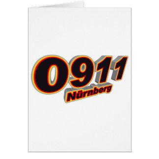 0911 Nürnberg Karte