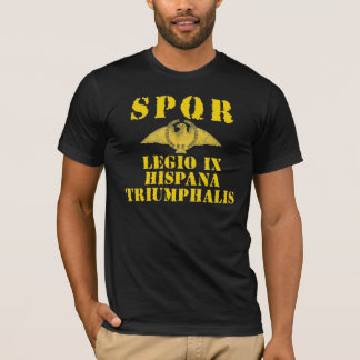 09 9. spanische triumphierende Legion - römisches T-Shirt