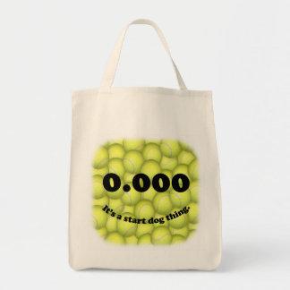 0,000, der perfekte Anfang, ist es eine Tragetasche
