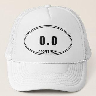 0,0 Ich lasse nicht Hut laufen Truckerkappe