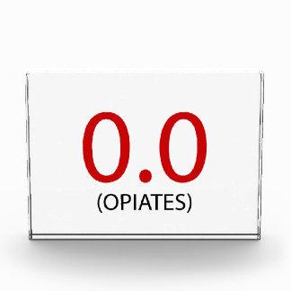 0,0 Opiate Fotoblock