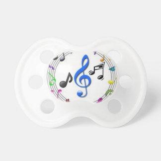0-6 Monate Schnuller-Musik-Symbole Baby Schnuller