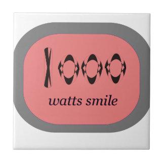 1000 Watt Lächeln Fliese