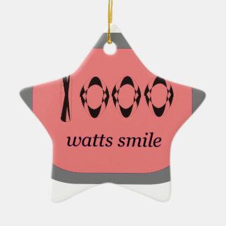 1000 Watt Lächeln Keramik Ornament