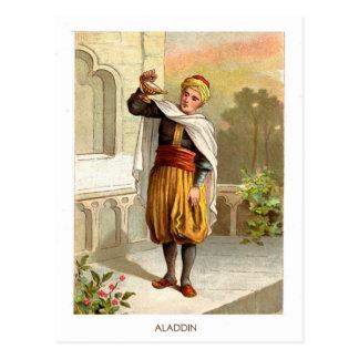 1001 arabische Nächte: Aladdin Postkarte