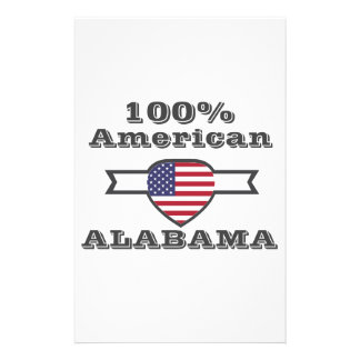 100% Amerikaner, Alabama Briefpapier