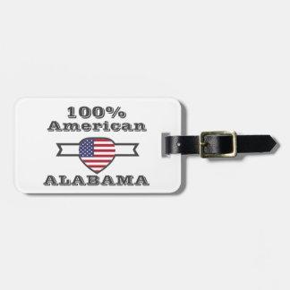 100% Amerikaner, Alabama Gepäckanhänger